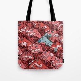 RUN! DONKEY RUN! Tote Bag