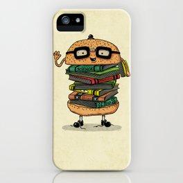 Geek Burger v.2 iPhone Case