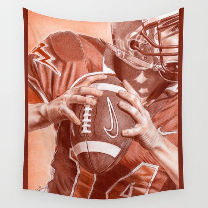 American Football Wall Tapestry