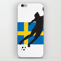 sweden iPhone & iPod Skins featuring Sweden - WWC by Alrkeaton