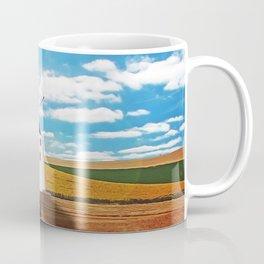 Idyllic white windmill Coffee Mug