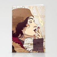 smoke Stationery Cards featuring Smoke by Kimball Gray