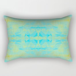 Anatian - Mid Century Modern Abstract Rectangular Pillow
