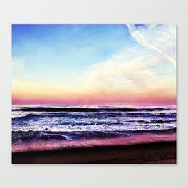 Unicorn Beach Canvas Print