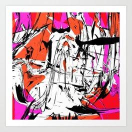 hernia cantor Art Print
