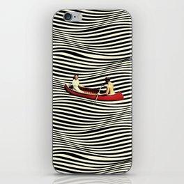 Illusionary Boat Ride iPhone Skin