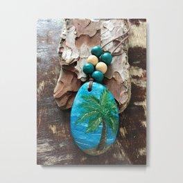 Palm tree close to my heart Metal Print