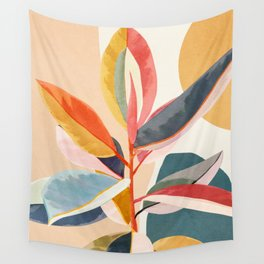 Colorful Branching Out 05 Wall Tapestry