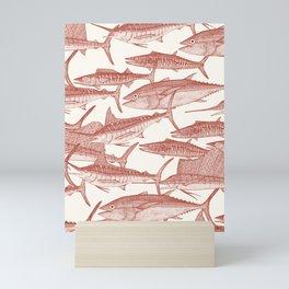 Atlantic fish paprika Mini Art Print