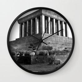 Ho Chi Minh Mausoleum - Hanoi - Vietnam Wall Clock