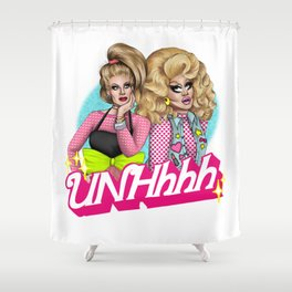 UNHhhh Shower Curtain