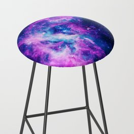 Dream Of Nebula Galaxy Bar Stool
