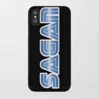 sagan iPhone & iPod Cases featuring Sagan by djoek