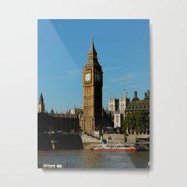 London Love Metal Print