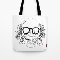 My best friend, Death Tote Bag