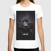 cigarettes T-shirts featuring Black Coffee and Cigarettes  by Karah Robinson- Art