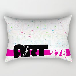 Women in Art 278 Rectangular Pillow