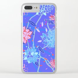 Heroinax Freaky Flowers Clear iPhone Case