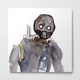 K2SO Watercolor Painting Metal Print