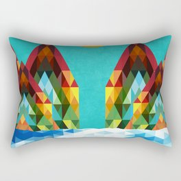 Chill Landscape Rectangular Pillow
