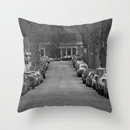 Free Parking Throw Pillow