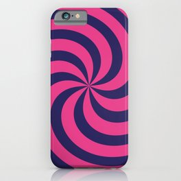 Color Swirl V iPhone Case