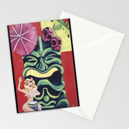 Tiki Mai Tai Stationery Cards