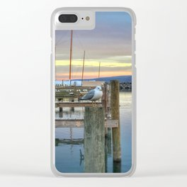 Sunday Gull Clear iPhone Case
