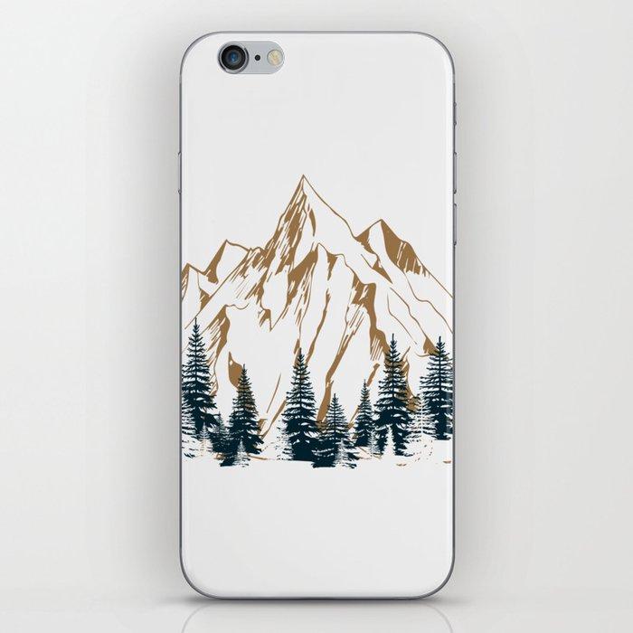 mountain # 4 iPhone Skin