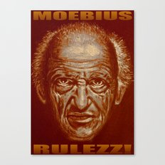 moebius rulezz 2015 Canvas Print