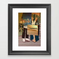 my love where we go? Framed Art Print