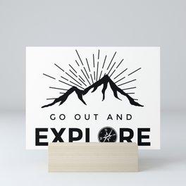 Go Explore Mini Art Print