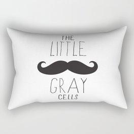 Poirot - The Little Gray Cells Rectangular Pillow