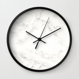 Marble by Hand Wall Clock