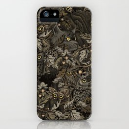 Fit In (autumn night colors) iPhone Case