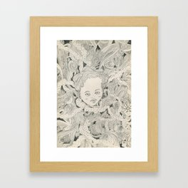 Little Lady Framed Art Print