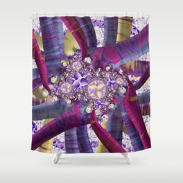 Audrey's Posies Shower Curtain