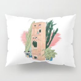 Office Plants Pillow Sham