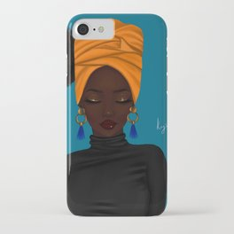 afrocentric iPhone Case