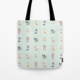 ANIMALS OF THE FOREST Tote Bag