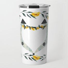 yelow fox Travel Mug