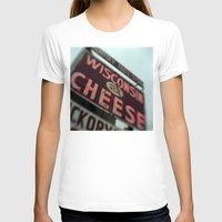 wisconsin T-shirts featuring Wisconsin Cheese by Tyler Hewitt