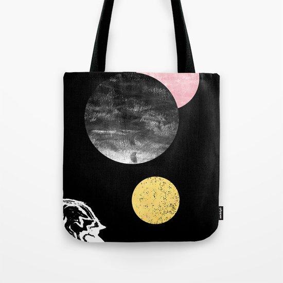 Celeste - space modern minimal abstract painting art urban brooklyn new york los angeles design Tote Bag