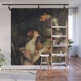 Lamia and the Soldier - Princess and Knight by John William Waterhouse Wall Mural