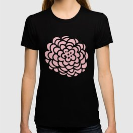 Pink and White Floral Damask T-shirt