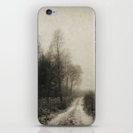 Snowfalls Gone By iPhone Skin