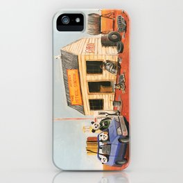 The Outback Petrol Station iPhone Case