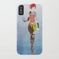 borderlands iPhone & iPod Cases featuring Borderlands 2 - Lilith by LightningJinx
