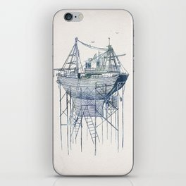 Dry Dock II iPhone Skin