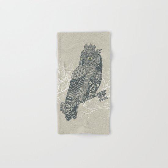 Owl King Hand & Bath Towel
